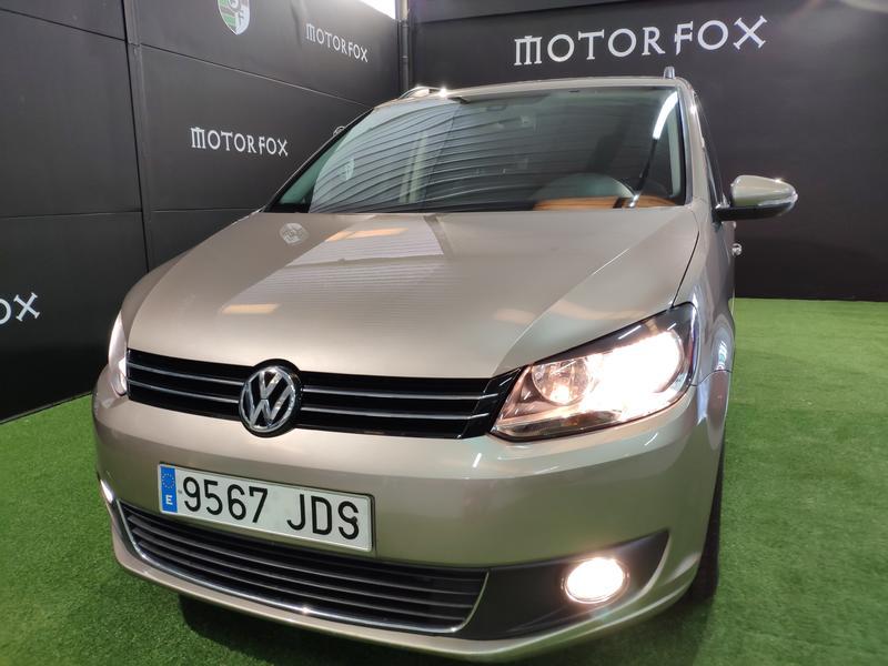 VW TOURÁN 1.6 TDI 105CV (GRIS) - Foto 9