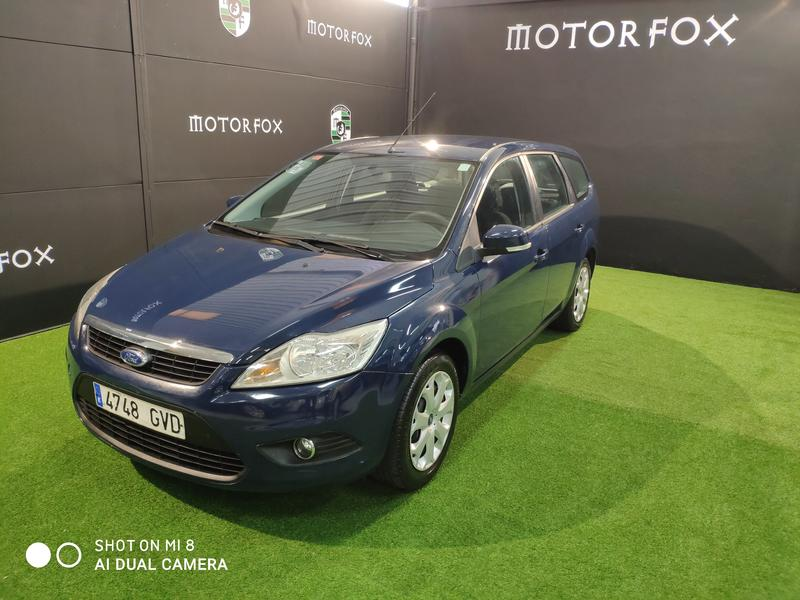 FORD FOCUS 1.6TDCI 109 TREND SPORTBREAK (AZUL)